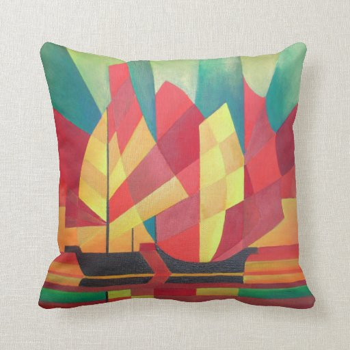 Sails and Ocean Skies Pillows