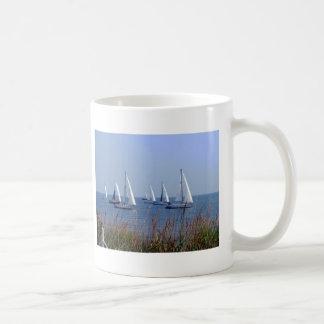 Sails on the Chesapeake Classic White Coffee Mug