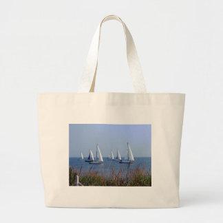 Sails on the Chesapeake Jumbo Tote Bag