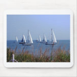 Sails on the Chesapeake Mouse Mat