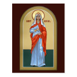 Saint Abigail Prayer Card Postcard