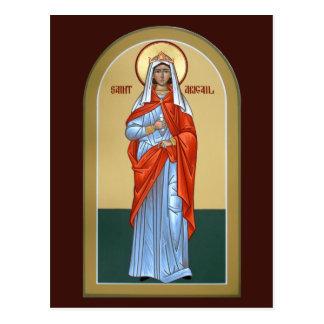Saint Abigail Prayer Card Post Card