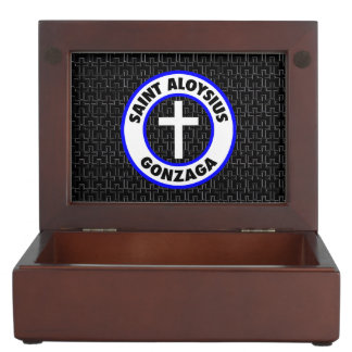Saint Aloysius Gonzaga Keepsake Box