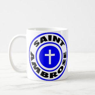 Saint Ambrose Coffee Mug