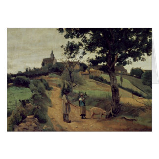 Saint-Andre-en-Morvan, 1842 Card
