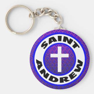 Saint Andrew Keychain