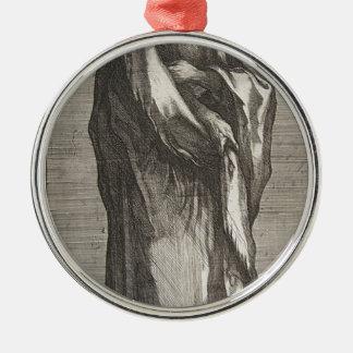 Saint Andrew Metal Ornament