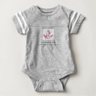 Saint Andrew of Crete Baby Bodysuit