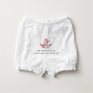 Saint Andrew of Crete Diaper Cover