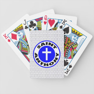 Saint Anthony Bicycle Playing Cards