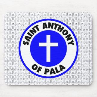 Saint Anthony of Pala Mouse Pad