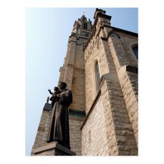"""Saint Anthony Statue"" Postcard"