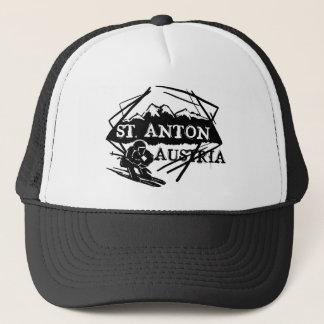Saint Anton Austria ski logo hat