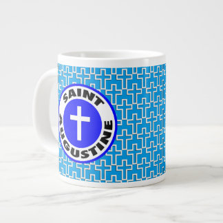 Saint Augustine Large Coffee Mug