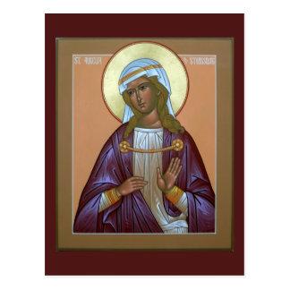 Saint Aurelia Prayer Card Post Cards