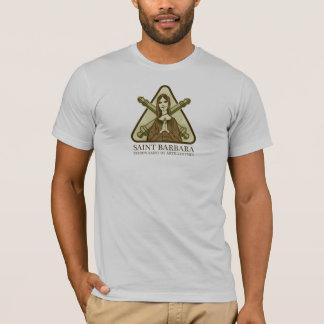 Saint Barbara, patron saint of artillerymen T-Shirt