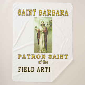 SAINT BARBRA SHERPA BLANKET