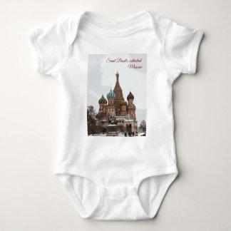 Saint Basil's cathedral_eng Baby Bodysuit