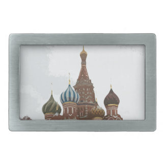Saint Basil's cathedral_eng Belt Buckles