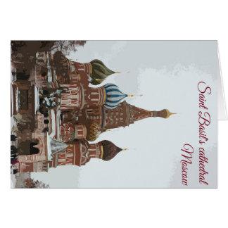 Saint Basil's cathedral_eng Card