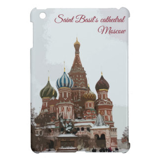 Saint Basil's cathedral_eng iPad Mini Cases