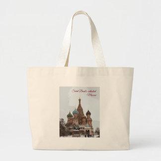 Saint Basil's cathedral_eng Large Tote Bag