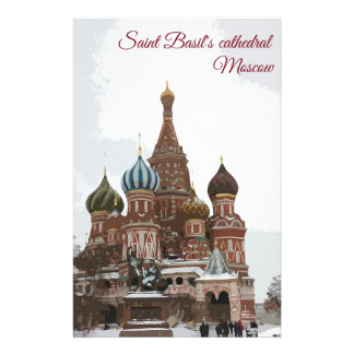 Saint Basil's cathedral_eng Stationery