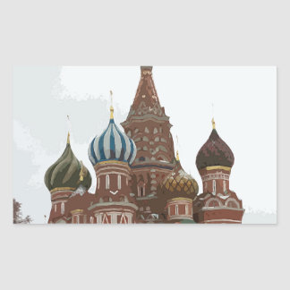 Saint Basil's cathedral_eng Sticker
