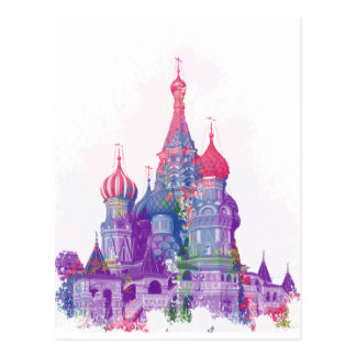 Saint Basil's Cathedral Moscow Postcard