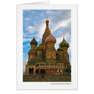 Saint Basil's Cathedral, Red Square Card
