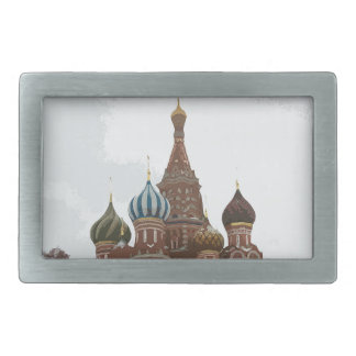 Saint Basil's cathedral_russo Belt Buckle