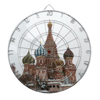 Saint Basil's cathedral_russo Dartboard