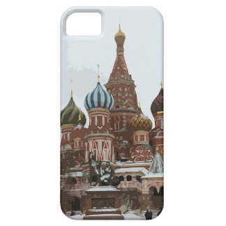 Saint Basil's cathedral_russo iPhone 5 Case