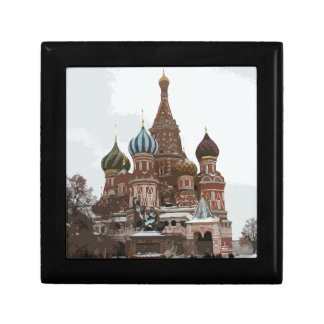 Saint Basil's cathedral_russo Keepsake Box