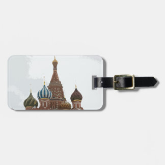 Saint Basil's cathedral_russo Luggage Tag