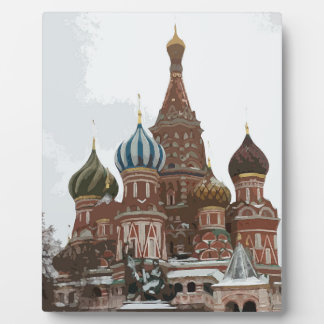 Saint Basil's cathedral_russo Plaque