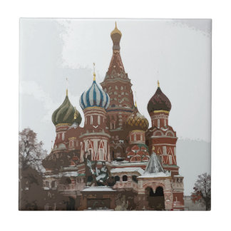 Saint Basil's cathedral_russo Tile