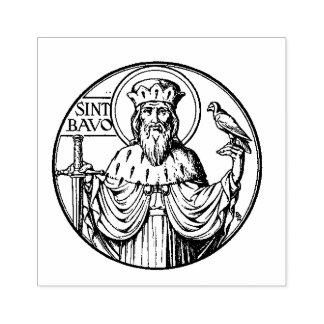 Saint Bavo Eastern Orthodox Catholic Rubber Stamp