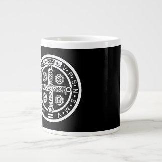 Saint Benedict Large Coffee Mug