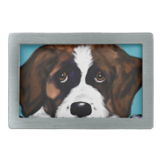 Saint Bernard Belt Buckle