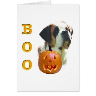 Saint Bernard Boo Card