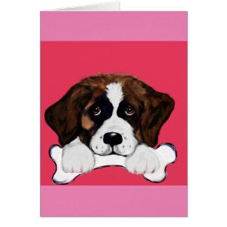 Saint Bernard Card