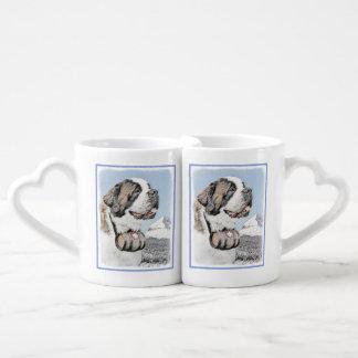 Saint Bernard Coffee Mug Set