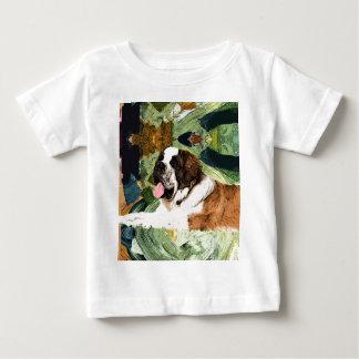 Saint Bernard Dog Baby T-Shirt