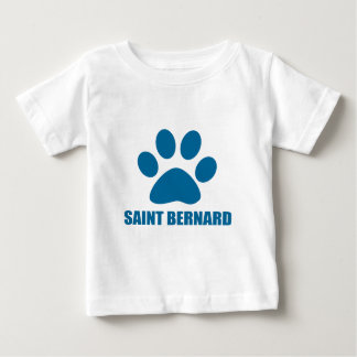 SAINT BERNARD DOG DESIGNS BABY T-Shirt