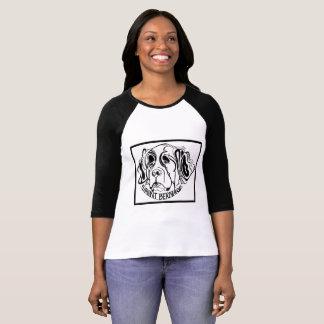 Saint Bernard Dog Doodle T-Shirt