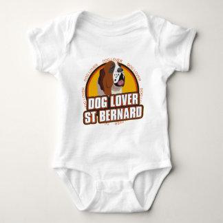 Saint Bernard Dog Lover Baby Bodysuit