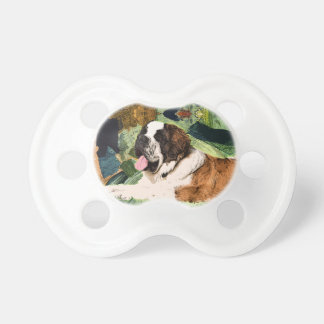 Saint Bernard Dog Pacifiers