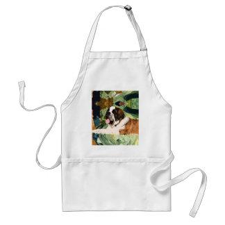 Saint Bernard Dog Standard Apron