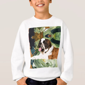 Saint Bernard Dog Sweatshirt
